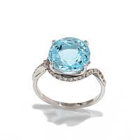 Золотое кольцо с топазом 2280243