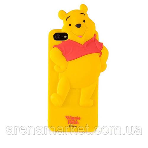 Силиконовый чехол «Disney» для iPhone 4/4S (Winnie Pooh)