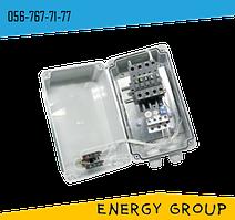 Нереверсивный магнитный пускатель ПММ 1-4 в оболочке