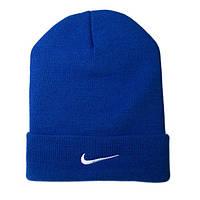 Шапка Nike синего цвета