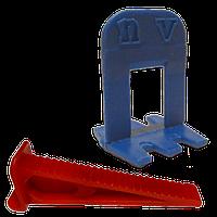 Комплект СВП-NOVA 100+100 (зажим+клин)