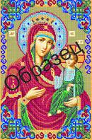 """Схема для вышивки бисером """"Пресвятая Богородица Иверская"""""""