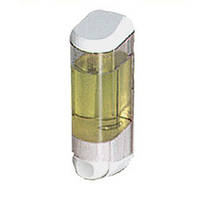 Дозатор мила рідкого пластик прозорий 0,25 л Acqualba