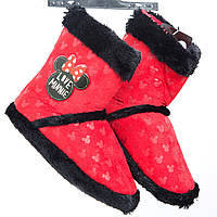 Тапочки сапожки Минни Маус /Minnie для девочек (р. 29-32) ТМ ARDITEX WD9769