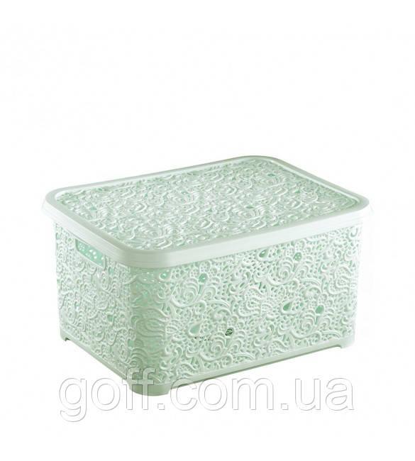 30*21*13 см Пластмассовые ящики для игрушек