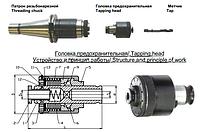 Патроны резьбонарезные К.М.3, К.М.4, К.М.5, ISO30, ISO40, ISO50 Головки предохранительные