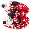 Тапочки-игрушки Минни Маус /Minnie для девочки р. 23 ТМ ARDITEX WD11635