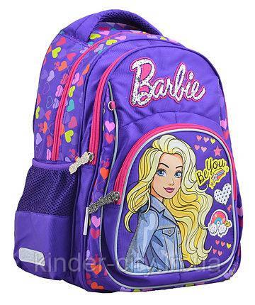 Рюкзак школьный ортопедический Барби YES 555267 для девочки