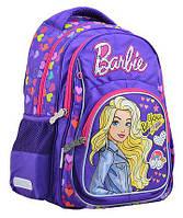Рюкзак школьный ортопедический Барби YES 555267 для девочки, фото 1