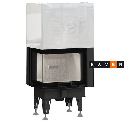 Каминная топка BeF Home Bef Therm V 8 CL, фото 2