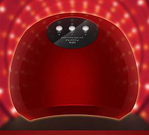 UV LED лампа светодиодная  48 Вт красная , фото 2