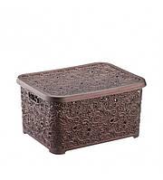 34*24*16 см Коробка пластиковая для хранения