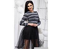 Стильное женское пышное платье  42,44,46р.