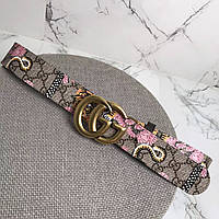 Женский брендовый ремень Gucci