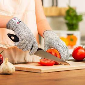 Перчатки от порезов Cut resistant gloves ART-3009 ( хозяйственные перчатки )
