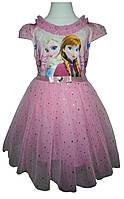 """Детское платье """"Frozen"""" с короной и волшебной палочкой, фото 1"""
