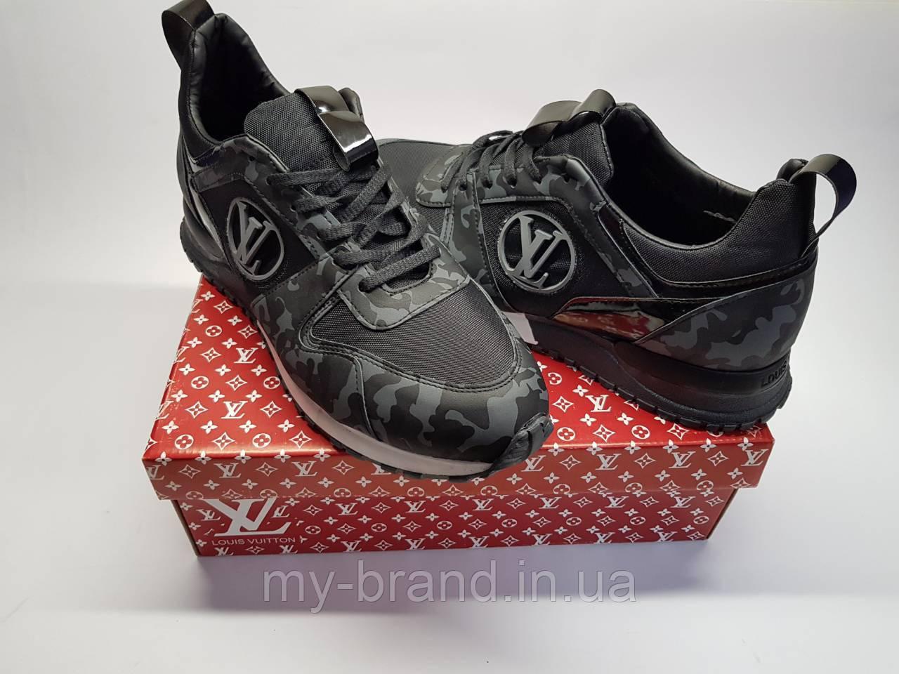 Мужские Кроссовки Louis Vuitton Люкс (Камуфляж Серый) — в Категории ... 2faffd6fb38