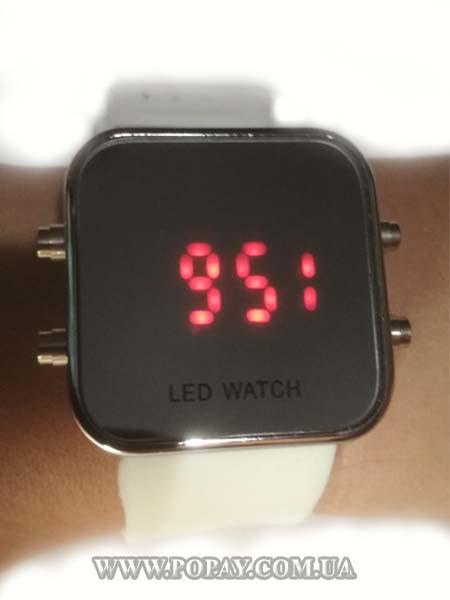 Годинник спортивні LED WATCH (white)