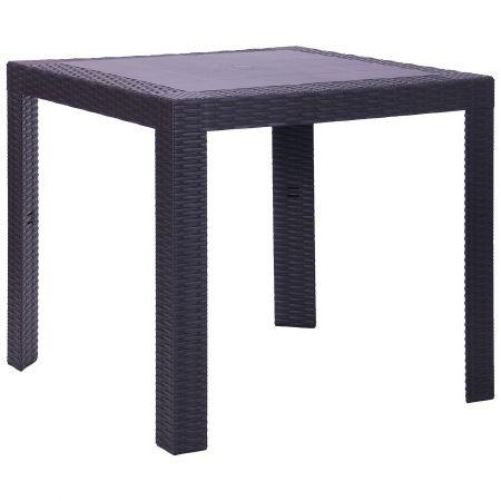 Стол для улицы Saturno 80х80 пластик, TM AMF