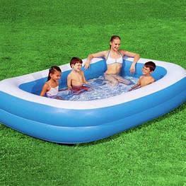 надувной плавательный бассейн 211x132x46cm