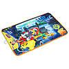 Коврик велюровый со стоппером Микки и веселые гонки /Mickey Roadster Racers (45х75 см) ТМ ARDITEX WD11625