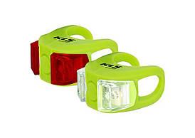 Велосвітло KLS Twins green