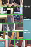 Меловой стенд двухсторонний, Т-образный штендер, фото 6