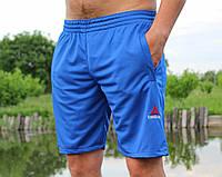 Мужские БАТАЛЬНЫЕ шорты Reebok синие реплика