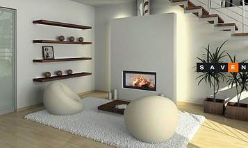 Каминная топка BeF Home Bef Therm V 14 с гильйотиной, фото 2