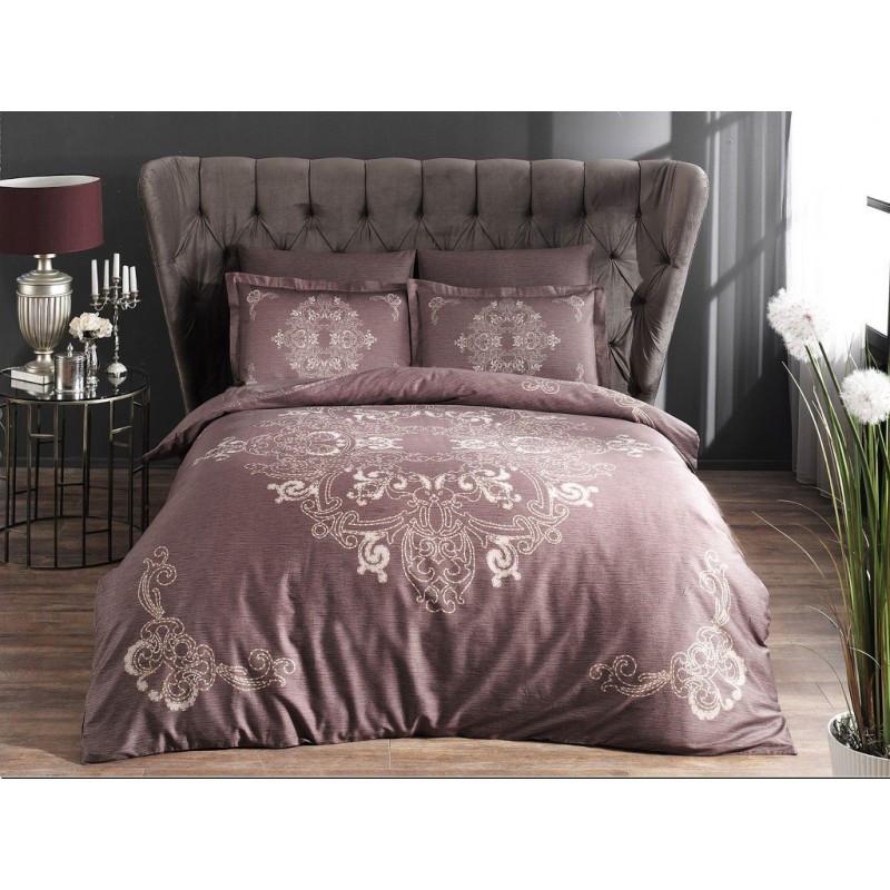 Постельное белье Pierre Cardin - Hermes фиолетовый сатин евро