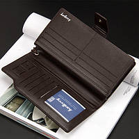 Мужской кошелек-клатч Baellerry Business S1063 brown