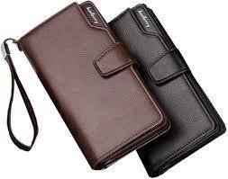 Мужской кошелек-клатч Baellerry Business brown, фото 3