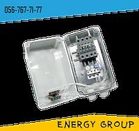 Нереверсивный магнитный пускатель ПММ 1-4 в оболочке c кнопками