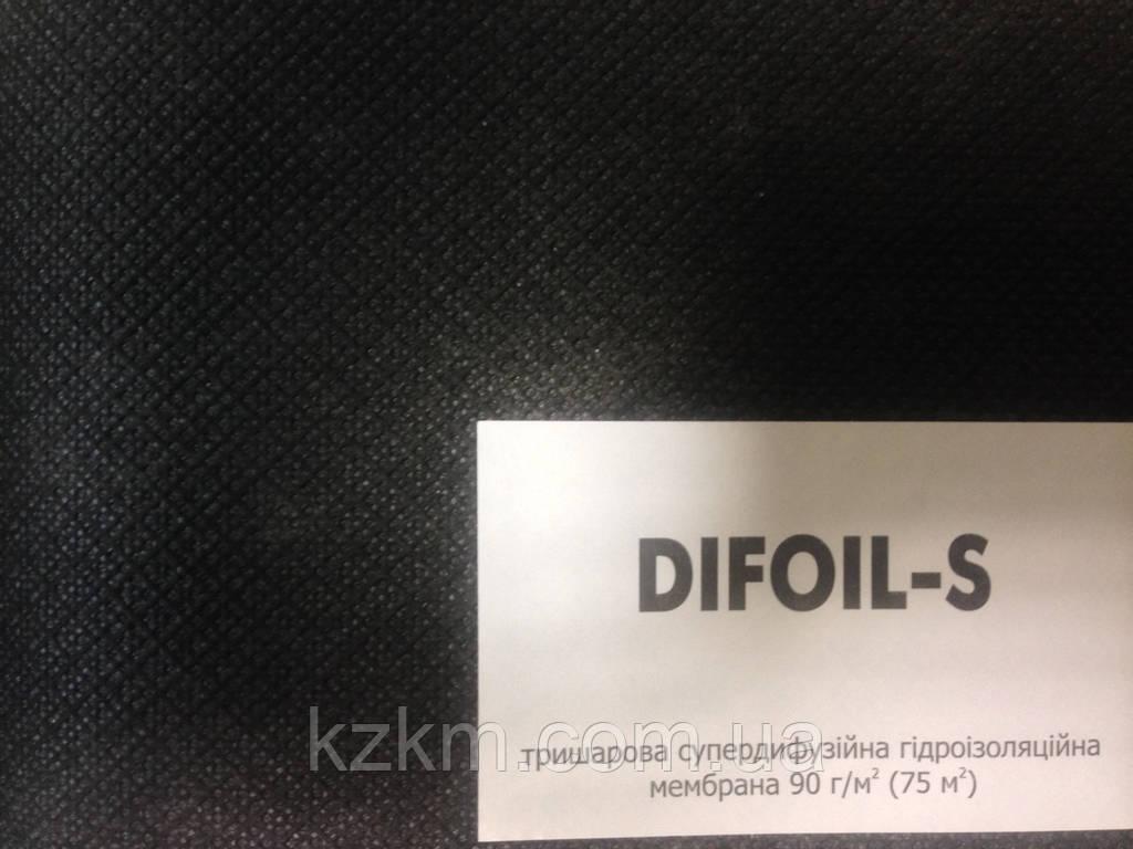 Гидроизоляционная супердиффузионная мембрана Difoil-S