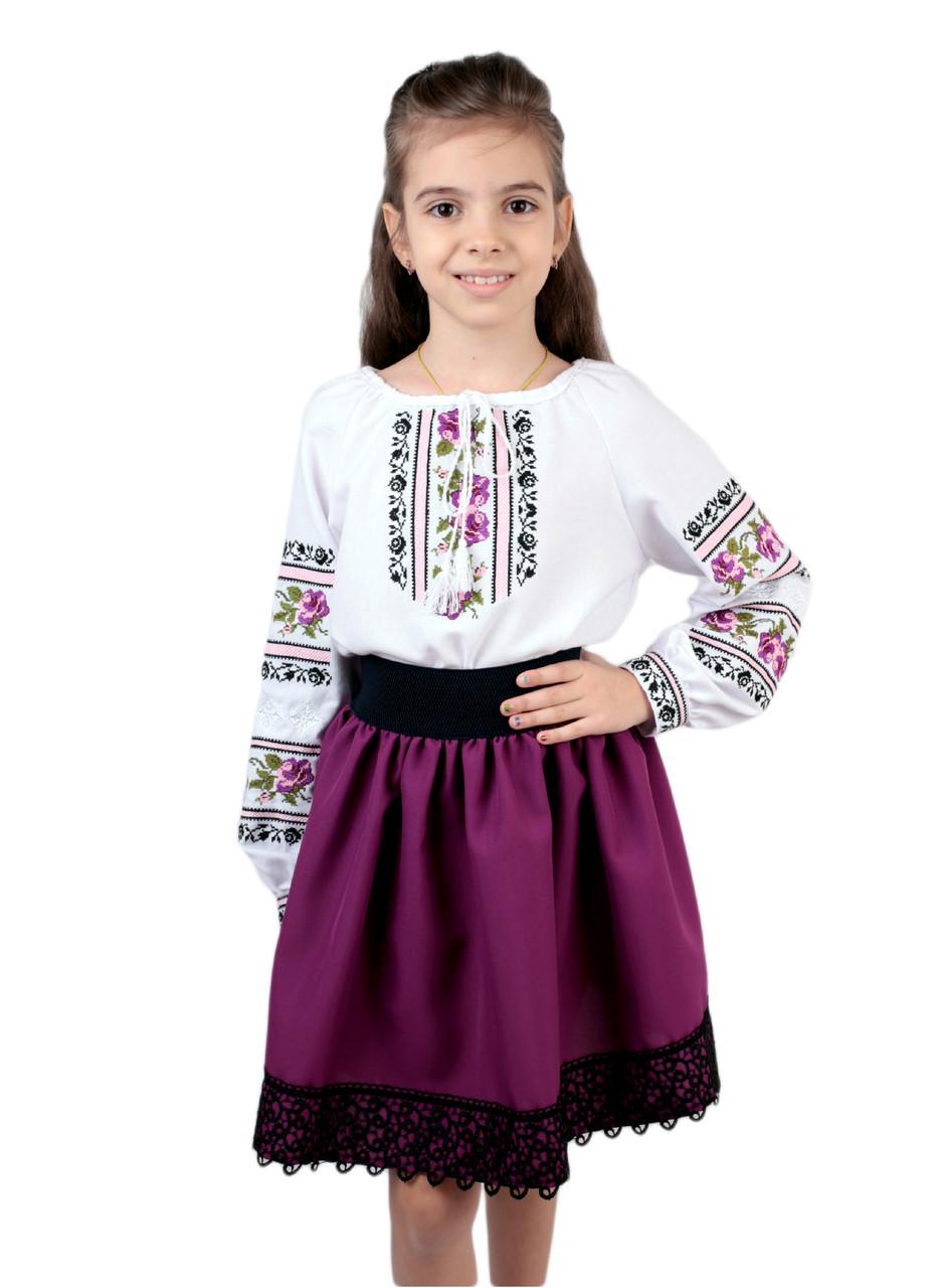 4a22da1a68cb67 Дитяча спідничка габардинова фіолетового кольору: продажа, цена в ...