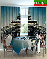 Фотошторы на кухню башня в Париже
