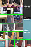Штендер меловой односторонний, доска меловая, фото 5