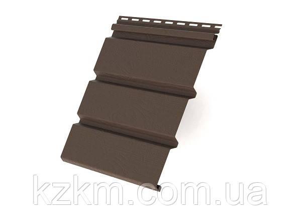 Соффит, софит, потолочный сайдинг коричневый (Ренвей)