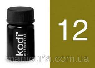 Гель цветной Kodi Professional №12, 4 мл