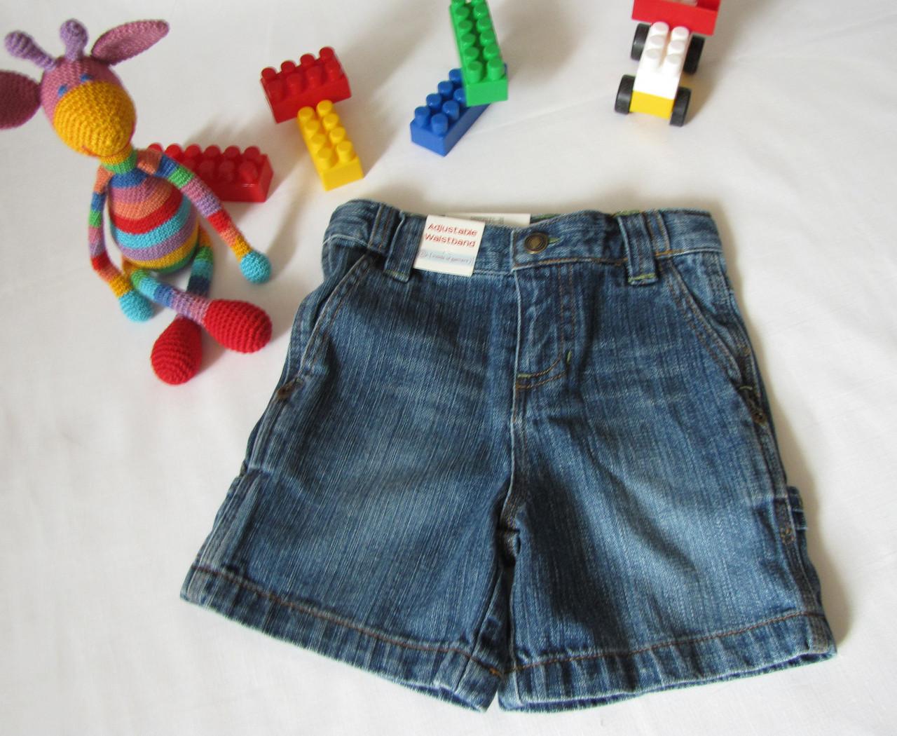Шорты джинсовые Wonder Kids оригинал рост 88 см синие 07169