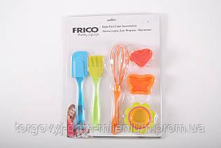 Набор для выпечки (силиконовые аксессуары) Frico FRU-889