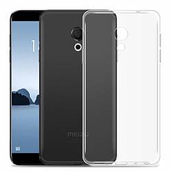 Прозрачный Чехол Meizu 15 Lite (ультратонкий силиконовый) (Мейзу 15 Лайт)