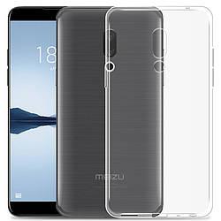 Прозрачный Чехол Meizu 15 Plus (ультратонкий силиконовый) (Мейзу 15 Плюс)