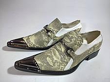 Туфли мужские 41 размер бренд JINGERTE, фото 3