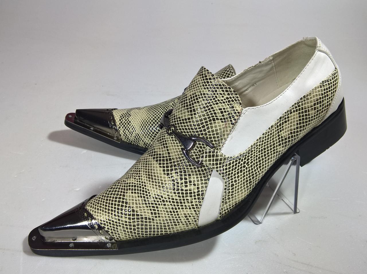 Туфли мужские 41 размер бренд JINGERTE