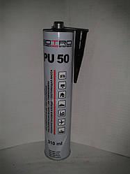 Поліуретановий герметик для швів SOTRO PU 50 чорний 310мл