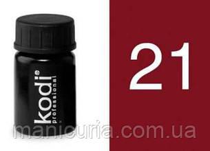 Гель цветной Kodi Professional №21, 4 мл