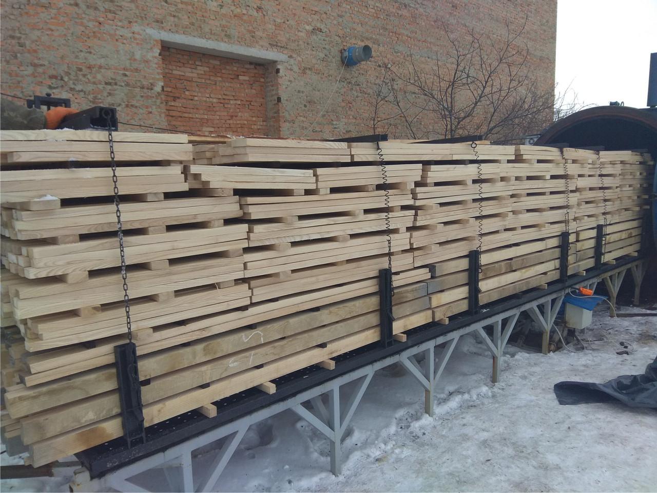 Оборудование для термической обработки (термо модификации) древесины
