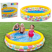Детский надувной бассейн «Геометрия» | «Intex»
