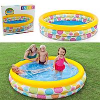 Детский надувной бассейн «Геометрия»   «Intex»